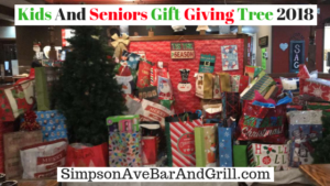 Kids And Seniors Giving Tree 2018